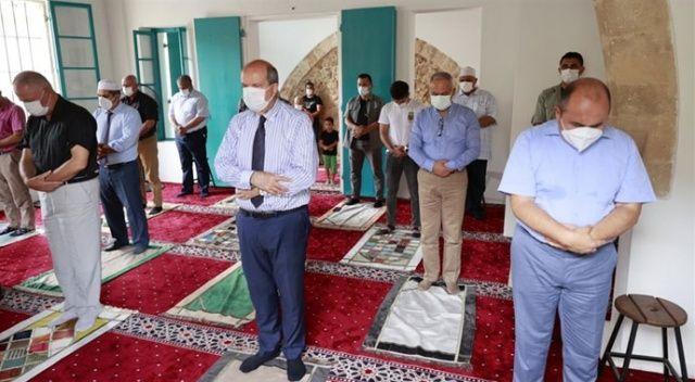 Kapalı Maraş'ta 47 yıl sonra ilk cuma namazı