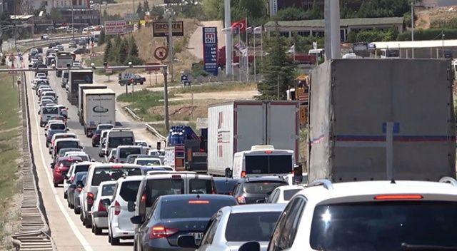 Kırıkkale'de bayram bilançosu: 2 milyon araç geçti