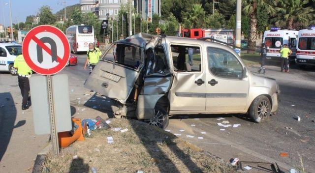 Manisa'da zincirleme kaza: Yaralılar var