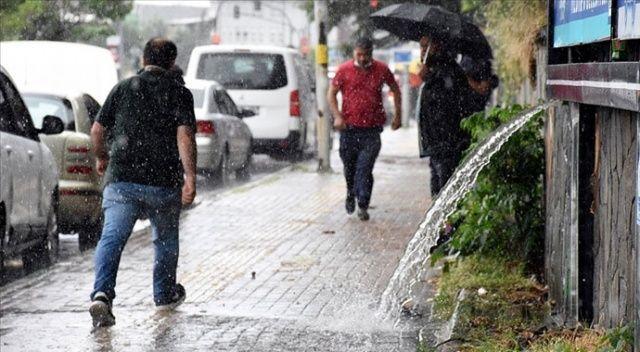 Meteoroloji'den 9 ile uyarı: 'Kuvvetli yağış' bekleniyor