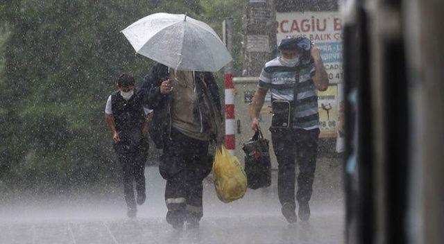 Meteoroloji'den Karadeniz'e sağanak ve sel uyarısı