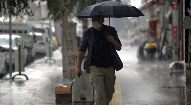 Meteoroloji'den sağanak uyarısı (10 Temmuz 2021 hava durumu)