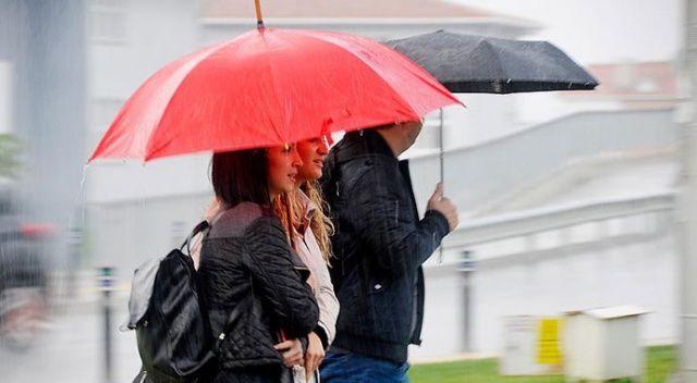 Meteoroloji'den sağanak ve sıcaklık uyarısı