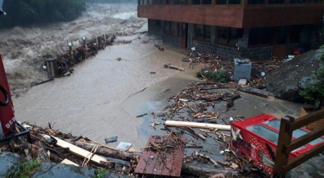 Meteorolojiden Orta ve Doğu Karadeniz için şiddetli yağış uyarısı