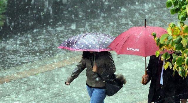 MGM'den gök gürültülü sağanak yağış uyarısı