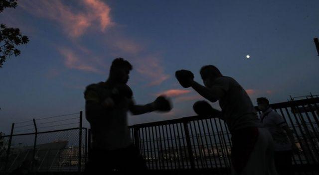 Milli boksör Bayram Malkan çeyrek finalde