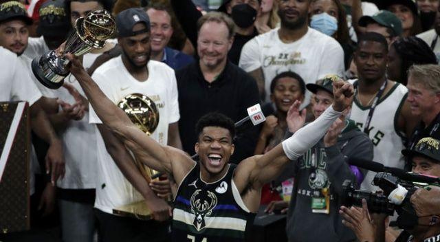 NBA'de şampiyon Milwaukee Bucks
