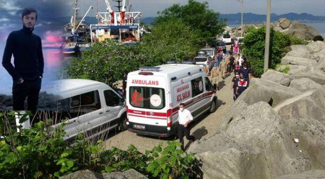 Ordu'da denizde kaybolan Furkan Şen'in cansız bedeni bulundu