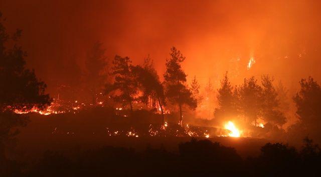 Osmaniye'de orman yangını 15 km ilerledi! Eşyasını alan kaçıyor