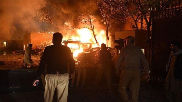 Pakistan'da patlama: 10 ölü, 39 yaralı