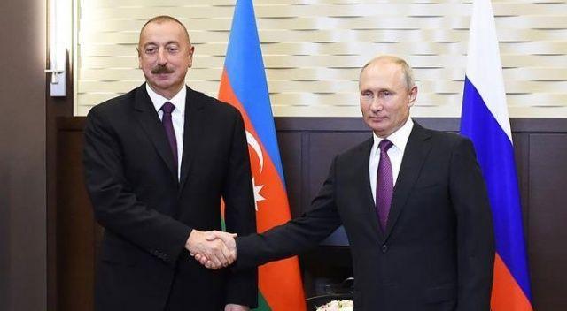 Putin ve Aliyev, yarın Moskova'da görüşecek