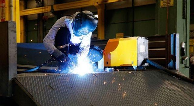 Sanayi üretim endeksi yüzde 40,7 yükseldi
