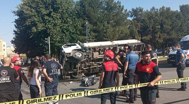 Şanlıurfa'da feci kaza, ölü ve yaralı var