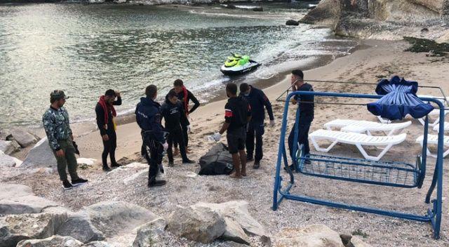 Şile'de denizde kaybolan son kişinin cansız bedeni bulundu