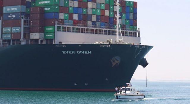 Süveyş Kanalı'nı tıkayan 'The Ever Given' gemisi Hollanda'ya doğru yola çıktı