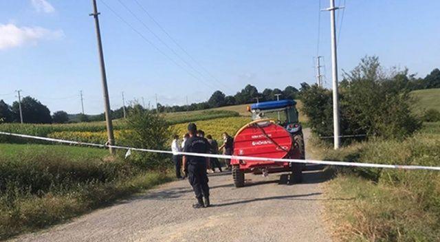 Tarla yolunda dehşet: İki küçük kardeşini traktörle ezdi