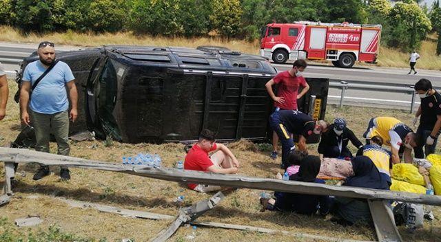 TEM Otoyolu'nda can pazarı: 6 yaralı