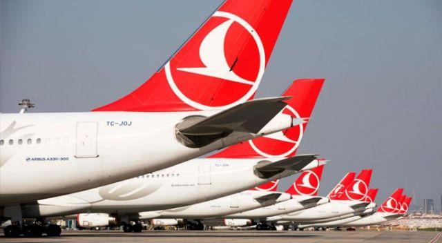 THY'den rekor: Bir günde  200 bin yolcu