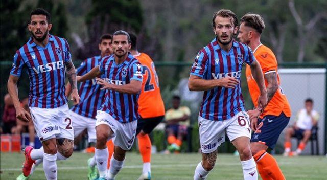 Trabzonspor ile Başakşehir maçından gol çıkmadı