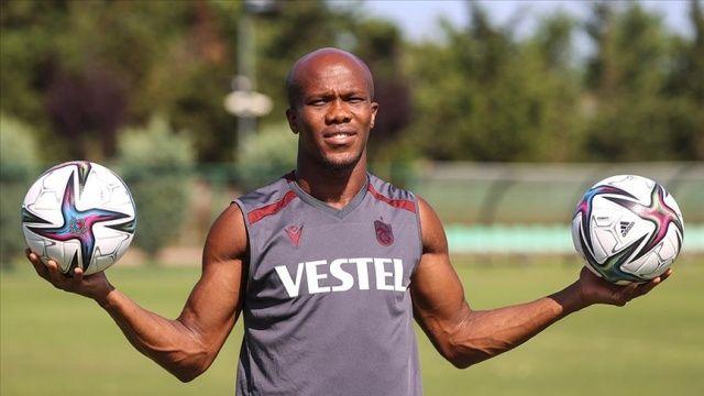 Trabzonspor'lu Nwakaeme: Hedefimiz sezona iyi başlamak