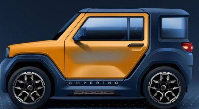 Türkiye'nin yeni elektrikli otomobili: Amperino