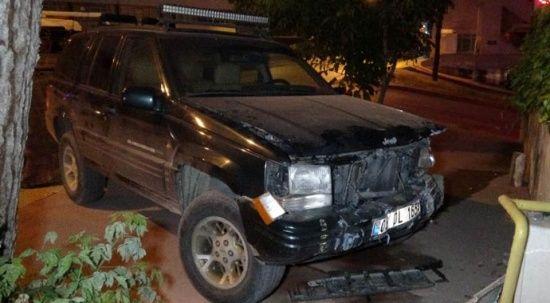 11 yasındaki çocuk babasının patronun arabasını çalıp kaza yaptı