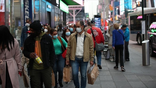 ABD'de koronavirüsten ölenlerin sayısı 605 bin 533'e yükseldi