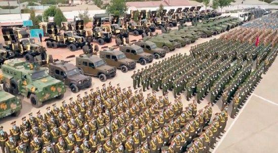 Afgan sınırına 20 bin yedek asker