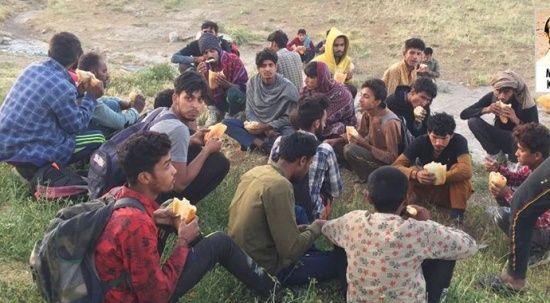 Ankara'da 63 düzensiz göçmen yakalandı