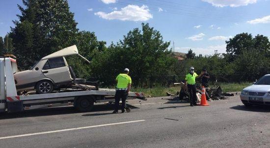 Ankara'da makas atan araç dehşet saçtı, ölü ve yaralılar var