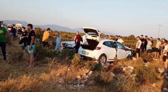 Aydın'da çok feci kaza: Ölü ve yaralılar var
