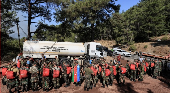 Azerbaycan'dan Türkiye'ye bir destek daha