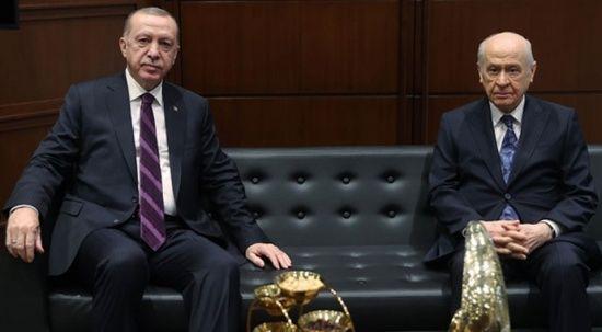 Bahçeli'den Erdoğan'a 'çınar fidanı'