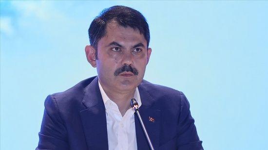 Bakan Kurum: Marmara Denizi'nde ilk 20 metrede artık müsilaja rastlanmıyor