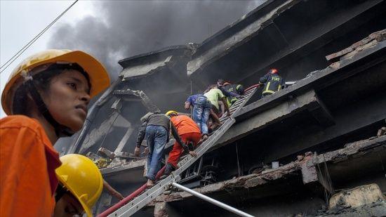 Bangladeş'te yangında en az 49 kişi hayatını kaybetti