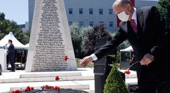 Cumhurbaşkanı Erdoğan: 15 Temmuz destanı hepimizin ortak gurur kaynağıdır