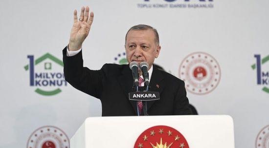 Cumhurbaşkanı Erdoğan: Biz eserlerimizle konuşuruz