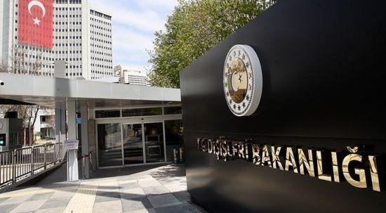 Dışişleri'nden BM'nin Kıbrıs kınamasına tepki