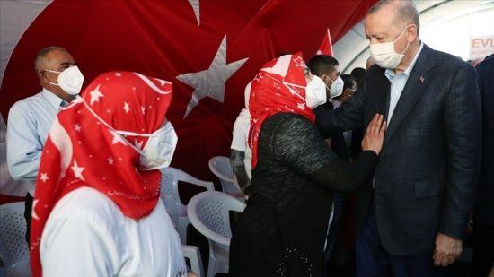 Diyarbakır annelerinden Erdoğan'a: Bu gücü senin sayende buluyoruz