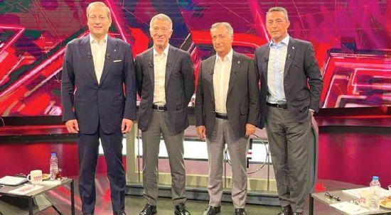 Dört büyük kulüpten ortak tavır: Futbolun sahibi biziz