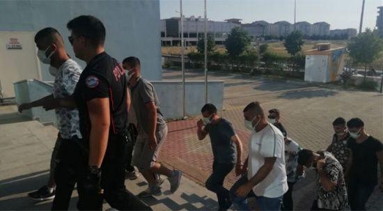 Edirne'de polis silahlı saldırıyı önledi, 12 gözaltı var