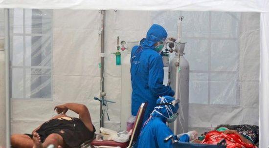 Endonezya'da medikal oksijen bitti: 63 hasta öldü