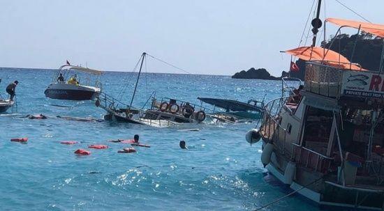 Fethiye'de tur teknesi battı: 2 yaşındaki çocuk hayatını kaybetti