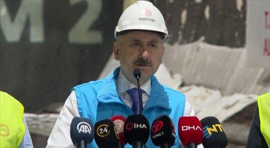 Halkalı-İstanbul Havalimanı metrosunun yüzde 60'ı tamamlandı