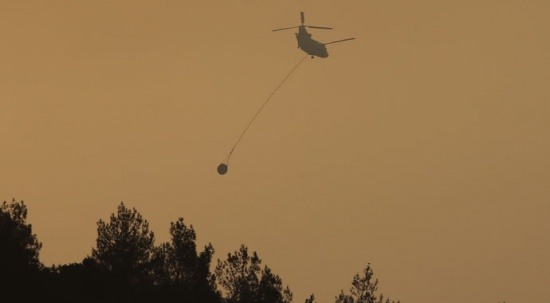 Mersin-Hatay'daki yangın kontrol altında: 4 kişi gözaltında