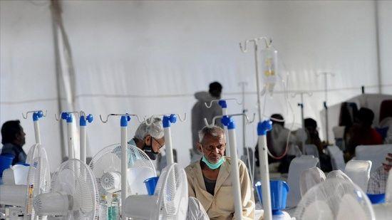Hindistan'da salgında hasta sayısında düşüş devam ediyor
