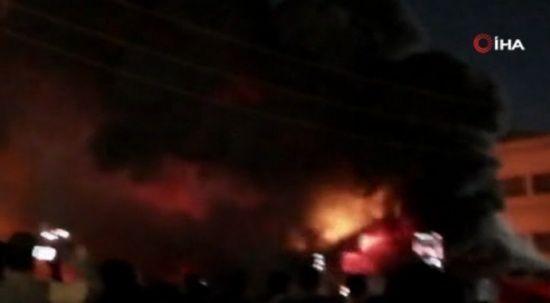 Irak'ta Covid-19 hastalarının yattığı hastanede yangın: Ölü sayısı 124'e yükseldi