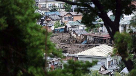 Japonya'da heyelan felaketi: 2 ölü, en az 20 yaralı