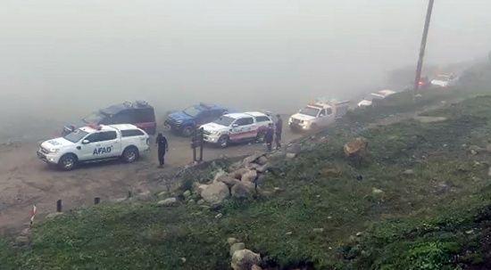 Kaçkar Dağları'na tırmanan Ukraynalı dağcılar kayalığa düştü