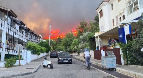 Marmaris ve Milas'ta da yangın çıktı!